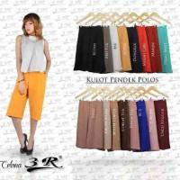Celana Kulot Pendek Scuba Ready Size M L XL XXL XXXL