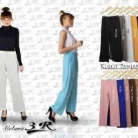 Jual Celana Kulot Panjang Scuba Ready Size STD, XL, XXL, XXXL Murah
