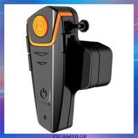 Bluetooth Interphone Helm Motor 1000 Meter - BT-S2 - Black