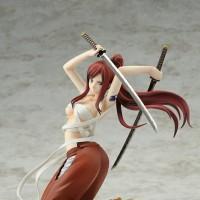 Figure PVC 1/8 Erza Scarlet Yoto Benisakura Samurai Katana Fairy Tail