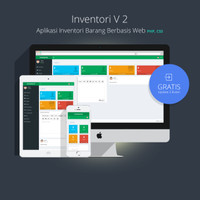 Software Inventori Barang v2 berbasis Web Php ( Source Code Original )