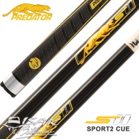 Predator Sport2 Play Cue 314-3 Shaft - Billiard Stick Stik Biliar Asli