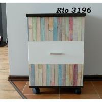 Wallpaper Rio ( Cutting Sticker/Contact Paper/Sticker dinding )