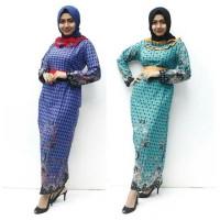 Gamis Batik Pola