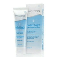 WARDAH PERFECT BRIGHT LIGHTENING MOISTURIZER 20 ML SPF 30