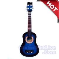 Jual Gitar Ukulele   Kentrung 4 Senar Biru  Ukuran 58x21x8 cm Murah