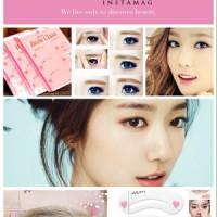 Cetakan Alis Mini Blow Class Brow Kecantikan alami mata wanita korean style salon beauty eye template mascara maskara kosmetik