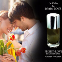 PHERO-LOVE feromon / Pheromone Parfum eau de toilet 20ml pria wanita