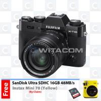 harga Fujifilm X-T10 XF18-55mm F2.8-4 R LM OIS - Black Tokopedia.com