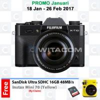 harga FUJIFILM X-T10 XF18-135mm - Black Tokopedia.com