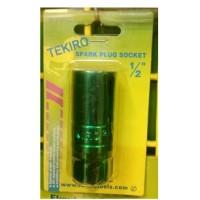 Tekiro Mata Sock Busi Hijau 1/2 Inch X 21 Mm - Spark Plug Green