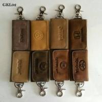 Jual Gantungan Kunci kulit Asli GKA02,Dompet STNK,Dompet Motor Mobil Murah
