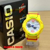 Jam Tangan G Shock Baby-G BGA 180 Yellow