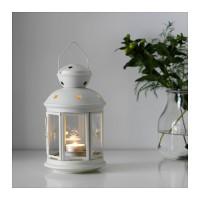ROTERA IKEA Lentera untuk lilin kecil, tempat lilin