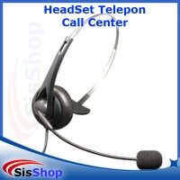 HEADSET TELEPON TELEPHONE CALL CENTER HEADSET