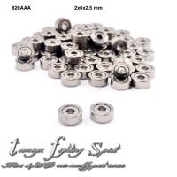 Rep Tamiya Bearing 2x6x2.5mm / Bearing Roda 620 AAA 4pcs/pack (BE26)
