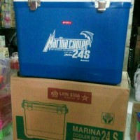 (KHUSUS GOJEK) COOLER BOX MARINA 24S LION STAR