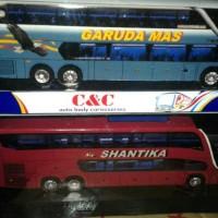 MINIATUR BUS PUTERA SHANTIKA C&C PRODUCT