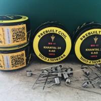 MK-II Prebuilt/Prebuild Premium Coil Kanthal AWG 24/AWG 26