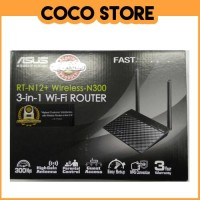 Asus Router RTN-12+ 3 in 1 Extender Access Point AP Wifi RTN 12