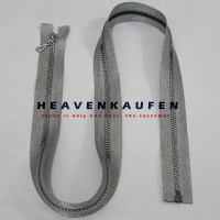 Zipper Resleting Open-End 1 Meter (100 cm) Silver Blink-Blink