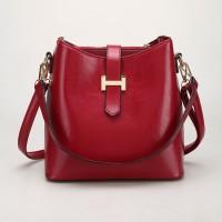 tas totebag shopper bag merah marun elizabeth holika palomino wanita