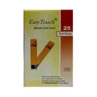 Jual EasyTouch Strip Test Asam Urat isi 25 strip / box PROMO MURAH Murah