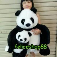 boneka panda jumbo/besar(ibu dan anak)