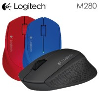 Logitech Mouse Wireless M280 pc komputer computer bagus murah new baru
