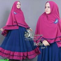 Bella syari/gamis mewah wanita dewasa/fashion muslim/gamis murah/FS