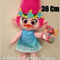 Boneka Import Poppy Trolls Hasbro Original Kado Hadiah Ulang Tahun