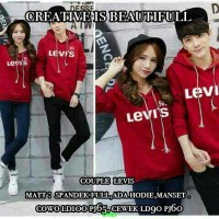 CP Levis-Couple Levis Red-Hoodie Couple Online-Jaket couple brand-SG