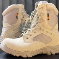 harga Sepatu Pria Delta Tactical Boots Desert 8 Inch Made Usa Tokopedia.com