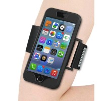 Sports Silicone Armband Case for iPhone 6 / 6s