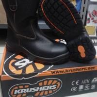 sepatu krusher texas/sepatu safety/safety shoes