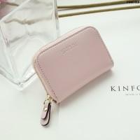 Dompet Kulit Fashion Import Wanita MD 918 Pink