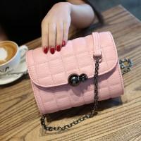 Tas Kulit Fashion Import Wanita MD 869 Pink