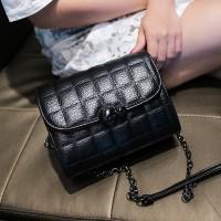 Tas Kulit Fashion Import Wanita MD 869 Hitam