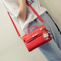 Tas Kulit Fashion Import Wanita MD 676 Merah