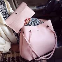 Tas Kulit Fashion Import Wanita MD 871 Pink