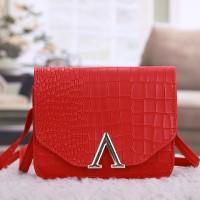 Tas Kulit Fashion Import Wanita MD 809 Merah
