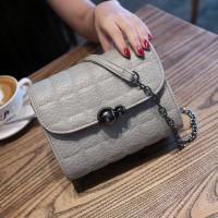 Tas Kulit Fashion Import Wanita MD 869 Abu