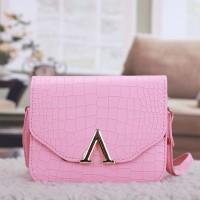 Tas Kulit Fashion Import Wanita MD 809 Pink