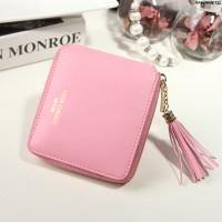 Dompet Kulit Fashion Import Wanita MD 917 Baby Pink