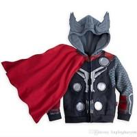 Hoodie Jaket Super Hero (Thor dengan sayap)