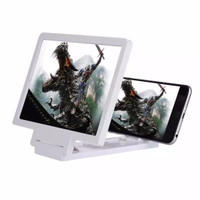 Jual Pembesar Layar Enlarge Screen Magnifier Bracket Stand 3D For Smarphone Murah