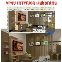 Tutorial Google Sketchup Vray Interior Lightning