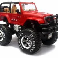 RC Jeep Car Hartop Jumbo 4x4 Randa 1:12 Mobil Jip Remote Control 4WD