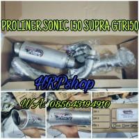 knalpot proliner sonic 150 supra GTR 150 TR-1 short