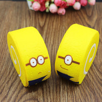 SQUISHY JUMBO DESPICABLE ME MINIONS CAKE ROLL